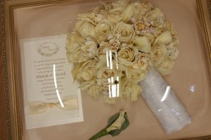 Wedding Day Freeze Dried Floral Model #0704