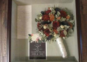 Wedding Day Freeze Dried Floral Model #1244