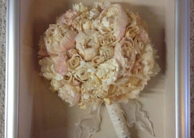 Wedding Day Freeze Dried Floral Model #1403