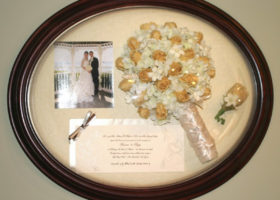 Wedding Day Freeze Dried Floral Model #2632