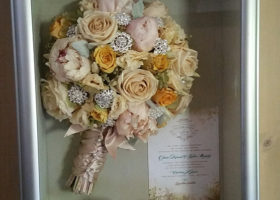 Wedding Day Freeze Dried Floral Model #3034