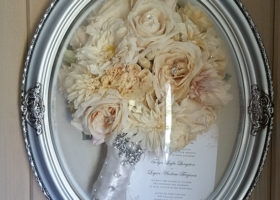 Wedding Day Freeze Dried Floral Model #3149