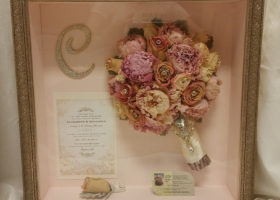 Wedding Day Freeze Dried Floral Model #4210