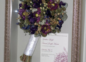 Wedding Day Freeze Dried Floral Model #4412