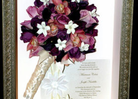Wedding Day Freeze Dried Floral Model #4534