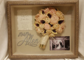 Wedding Day Freeze Dried Floral Model #4536
