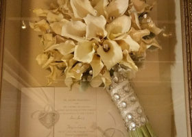 Wedding Day Freeze Dried Floral Model #4718